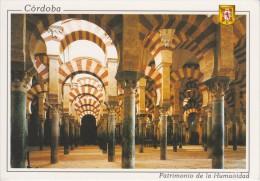 (1212) CORDOBA. PATRIMONIO DE LA HUMANIDDA. MEZQUITA CATEDRAL. LABERINTO DE COLUMNAS Y NAVES DE ALMANZOR - Córdoba