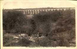 CPA - Lusignan (86) - Viaduc Ferroviaire - Kunstbauten