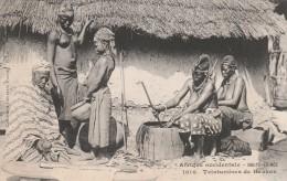 Haute Guinée  - RARE  -  Teinturères  De Kankan   -   Scan Recto-verso - French Guinea