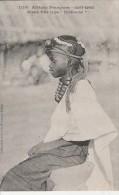 "Haute Guinée  - RARE -  Jeune Fille Type "" Djallonké"" -   Scan Recto-verso - Guinea Francesa"