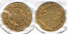 ESPAÑA CARLOS III ESCUDO MADRID 1781 ORO GOLD A 73 - [ 1] …-1931 : Reino