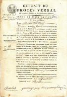 661/23 - LIMBURG - Document Période Française 1812 Commune De RUSSON (= RUTTEN) , Enregistré à MAASTRICHT Puis TONGRES - 1794-1814 (French Period)
