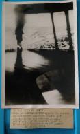 2nde Seconde Guerre Mondiale 39/45 Photo De Presse Bataille Narvik Herjangs Fjord Norvège Destroyer Allemand Censure - Historical Documents
