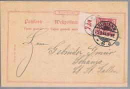 Deutsches Reich, 1898, Berlin-Schänis - Briefe U. Dokumente
