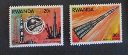 Rwanda 1976 Space Apollo Soyouz 2 Stamps Mnh - Rwanda