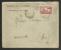 Lettre Recommandée TUNIS 13.06.1930 Pour ELBEUF - Tunisie (1888-1955)