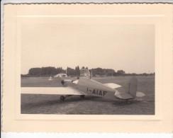 AEREO PLANE AICRAFT MANTOVA - FOTO ORIGINALE 1956 - Aviation