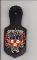 Pompier - Insigne ( Pucelle) Sapeurs Pompiers De Chartres 28 / Fabrication Drago  N° Sans - Firemen