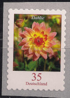 2006 Allem. Fed. Self A Dhesive Mi. 2514 ** MNH   Dahlie (Dahlia Variabilis Hort. - [7] Federal Republic