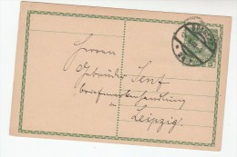 1909 Bragenz AUSTRIA 5h POSTAL STATIONERY CARD To Linz Stamps Cover - Stamped Stationery