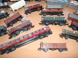 Märklin H0 Bordwagen DIXIE LINE Aus Blech (alte Ausführung) - Güterwaggons