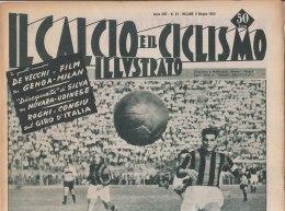 RA#33#397 IL CALCIO E IL CICLISMO ILLUSTRATO N.23/GIUGNO 1955/NAZIONALE AD ATENE//GIRO MAGNI-COPPI/MOSER DOLOMITI/COPPI - Ciclismo