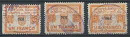 937 - TESSIN Fiskalmarken - Fiscaux