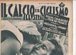 RA#33#405 IL CALCIO E IL CICLISMO ILLUSTRATO N.31/AGOSTO 1955/SPARTAK/TOUR FORNARA/TAPPA DI PAU - Ciclismo