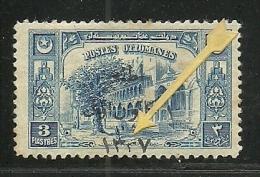 Turkey; 1921 1st Adana Issue 3 K., Overprint Error (Burak 873 IIb) - 1920-21 Anatolia