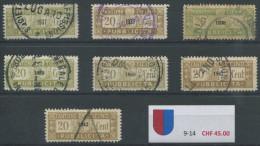 942 - TESSIN Fiskalmarken - Steuermarken