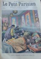 PETIT PARISIEN 1907N°941: FRANCE UNE FUMERIE D'OPIUM/REPARATION CABLE TELEPHONIQUE SOUS-MARIN - Le Petit Parisien