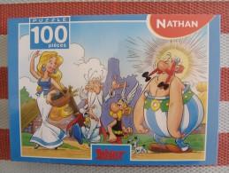 ASTERIX - PUZZLE 100 PIECES - NATHAN - FALABALA - NEUF EMBALLE - Astérix