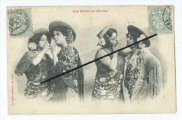 CPA - Les Belles De Séville - Tabac - Cigarette - Cigarettes - Tobacco (related)