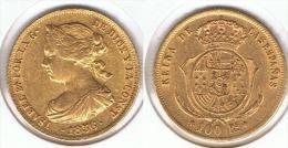 ESPAÑA ISABEL II 100 REALES 1856 MADRID ORO GOLD A24 - [ 1] …-1931 : Reino