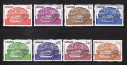 Mo 22 Monaco Timbres Préoblitérés 2 Séries N°54-47 Et 58-61 N++ - Préoblitérés