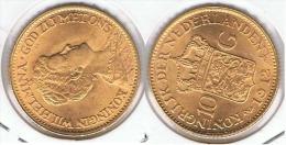 HOLANDA NEDERLANDEN GUILLERMINA 10 GULDEN FLORINES 1912 ORO GOLD A 60 MUY BONITA - 10 Gulden