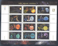 Marshall Islands - 1994 The Solar System Sheet MNH__(FIL-10672) - Marshall