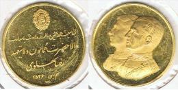 IRAN PERSIA SHA ORO GOLD MEDALLA A IDENTIFICAR A 79 - Irán
