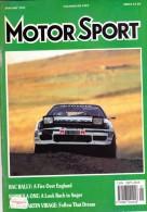 MOTOR SPORT - JANUARY 1991 - RAC RALLY - Sport