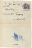 MAH473 Österreich 1931 KARTENBRIEF Siehe ABBILDUNG - Briefe U. Dokumente
