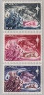 MONACO 1972 - SERIE N° 900  A  902 - 3 TP NEUFS** - Nuovi