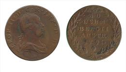 N2217 - Brabant: Léopold II: 2 Liards 1791, Bruxelles - Belgique