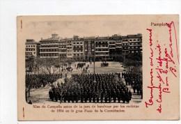 Pamplona.Misa De Campana Antes De La Jura De Banderas Por Los Reclutas De 1904  ........... - Navarra (Pamplona)