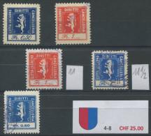961 - LOCARNO Fiskalmarken - Fiscaux