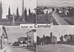 CAMALO' /  Saluti Con Vedutine _ Viaggiata - Treviso