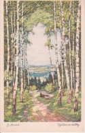 AK Künstlerkarte - J. Strnad - Výhled Do Dálky (22081) - Ohne Zuordnung