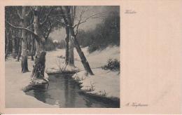 AK Künstlerkarte - A. Kaufmann - Winter  (22089) - Ohne Zuordnung
