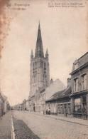 Poperinge Poperinghe O L Vrouw Kerk En Casselstraat - Poperinge