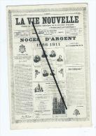 CPA -  La Vie Nouvelle - Organe De L'association Catholique De La Jeunesse Française - Noces D'Argent-1886-1911 - Glaube, Religion, Kirche