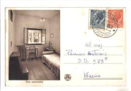 Possagno, Istituto Cavanis, Una Cameretta - F.p. - Anni ´1940 - Treviso