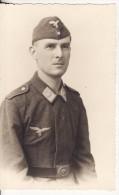 Carte Postale Photo Militaire Allemand Soldaten Luftwaffe-Aviation Allemande- Deuxième Guerre-REICH-1939-1945-Allemagne) - Guerre 1939-45