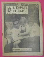 Avril 1963 Colonel Bastien-Thiry N°39 Et Supplément De Février OAS Sa Vie Son Combat Sa Mort  édit L'Esprit Public Paris - Livres, BD, Revues