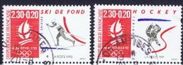 F+ Frankreich 1991 Mi 2816 2817 Winterspiele Albertville - Oblitérés