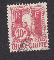 Indo-China, Scott #J8, Used, Dragon From Steps Of Angkor Wat, Issued 1908 - Indochina (1889-1945)