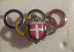 Broche Épinglette Jeux Olympiques Albertville 1992   SAVOIE - Olympic Games