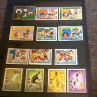 Republic Of Haute-Volta Football World Cup Munich 74 - Stamps