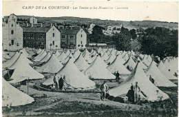 Camp De La COURTINE (23) - Les Tentes Et Les Nouvelles Casernes - France