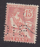 French Offices In Turkey, Scott #27, Used, Rights Of Man, Issued 1902 - Levant (1885-1946)