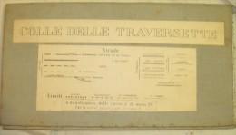 VECCHIA MAPPA -  COLLE DELLE TRAVERSETTE - 1:25.000 - Carte Topografiche