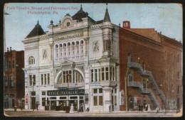 USA - Philadelphia - Park Theatre, Broad And Fairmount Ave., Old Postcard - Philadelphia